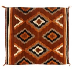 "Navajo Weaving, 4'1"" x 3'10"""