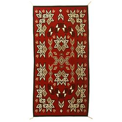 "Navajo Weaving, 9'4"" x 4'6"""