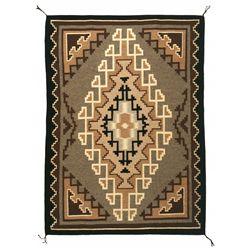"Navajo Weaving, 5'10"" x 4'4"""
