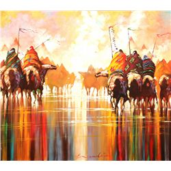B. C. Nowlin, oil on canvas