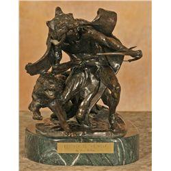 Fred Fellows, bronze