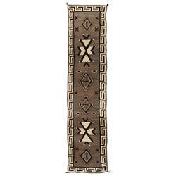 "Large Navajo Weaving, 19' x 4'5"""