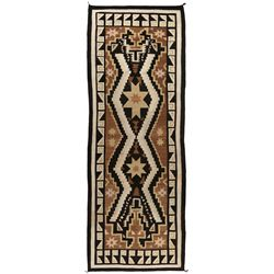 "Navajo Weaving, 13'8 x 4'9"""