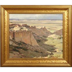 Clyde Aspevig, oil on canvas