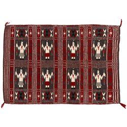 "Navajo Yei Weaving, 2'11"" x 2"""