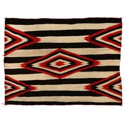 "Navajo Chiefs Revival Blanket, 4'9"" x 3'8"""