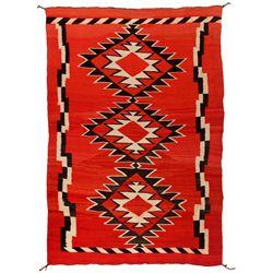"Navajo Weaving, 6'2"" x 5'1"""