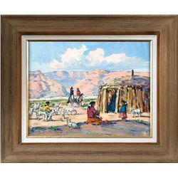 Marjorie Reed, oil