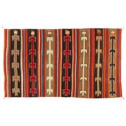 "Navajo Yei Weaving, 8'5"" x 4'11"""