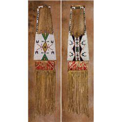 Lakota Sioux Beaded Pipebag