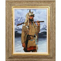 Craig Tennant, oil on canvas