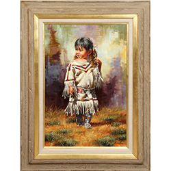 Jim Schaeffing, oil on canvas