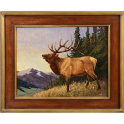 Dave Hodges, oil on canvas