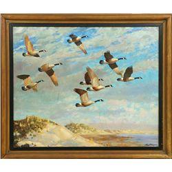 Richard Bishop, oil on canvas