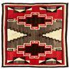 "Image 1 : Navajo Weaving, 6'4"" x 6'2"""