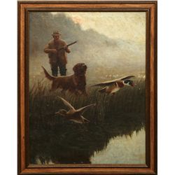 Frank Stick, oil on canvas