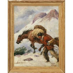 Howard L. Hastings, oil on canvas