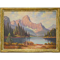 Leonard Lopp, oil on canvas