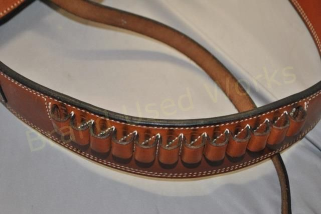 all leather pistol holster custom from Hollywood