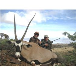 7-day Namibian Hunt with $3,000 Towards Trophy Fees for Two Hunters or One Hunter and One Observer