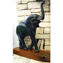 Carved Elephant Bull