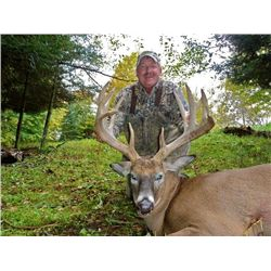 5-day Wisconsin Northeastern White-tailed Deer up to 200 SCI Hunt for Two Hunters