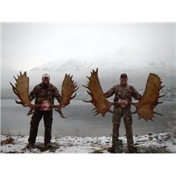 11-day Yukon Trophy Moose Hunt for One Hunter
