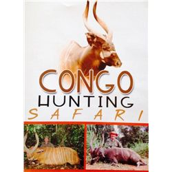10-day Congo Dwarf Forest Buffalo Hunt for Two Hunters