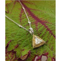 Custom Made Diamond Pendant