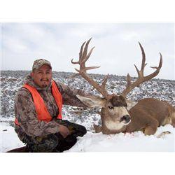 Navajo Nation Proclamation Hunt for Either Mule Deer or Elk for One Hunter