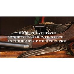 3-day California Pheasant or Chukar Hunt for Six Shooters