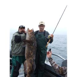 4-day Kodiak Island Offshore Fishing Trip for Two Anglers