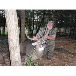 4-day Wisc. White-tailed deer Hunt for 175 Buck for One Hunter and One Observer