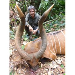 14-day Cameroon Bongo Hunt for One Hunter and One Observer