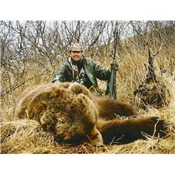 15-day Alaska brown bear, mountain goat, black bear and wolf hunt for 1 hunter