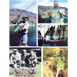 8-day Zimbabwe Wingshooting, Fishing and Tour for Two Hunters and Two Observers