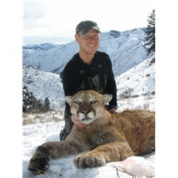 7-day Idaho Mountain Lion, Bobcat and Wolf Hunt for One Hunter and One Observer