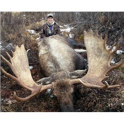 10-day Trophy Yukon Moose Hunt for One Hunter