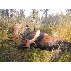 8-day British Columbia Western Canada Moose Hunt for Two Hunters