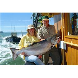 7-day British Columbia Salmon and Halibut Fishing Trip for Two Anglers