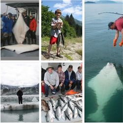 5-day Alaska Salmon and Halibut Fishing Trip for One Angler