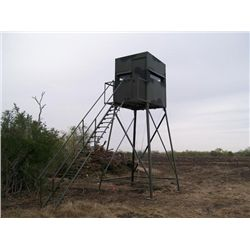 5x5, 12-ft. Atascosa Tower Blind with Luxury Package