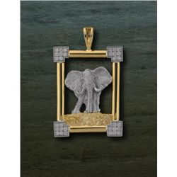 Handcrafted Elephant Pendant
