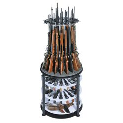 Pendleton Revolving Gun Storage Display Stand