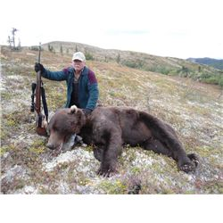 10-day Alaska Grizzly Bear Hunt for One Hunter