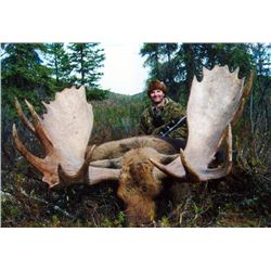 10-day Yukon Trophy Moose Hunt for One Hunter