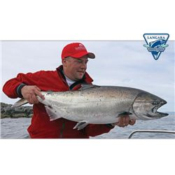 4-day Salmon and Halibut Fishing Trip for Two, at The Luxurious Langara Island Lodge
