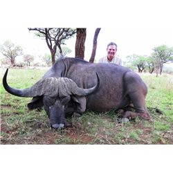 10-day Tanzania Cape Buffalo and Plains Game Hunt for One Hunter