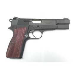 C&S Customized Alloy-Framed Hi-Power Grade 4 Handgun