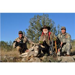 3-Day Mule Deer Hunt for One Hunter with One Wounded Warrior and Larry Weishuhn - Includes Trophy Fe